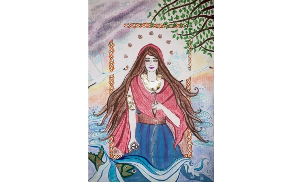 Sinann - Goddess of the River Shannon